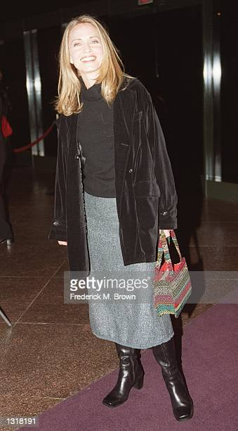 Actress Susanna Thompson attends the Los Angeles premiere of Giuseppe Tornatore''s 'Malena' December 12 2000 at the Directors Guild of America in Los...
