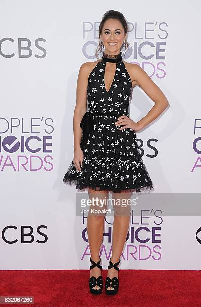 Actress Susannah Fielding arrives at the People's Choice Awards 2017 at Microsoft Theater on January 18 2017 in Los Angeles California