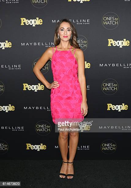 Actress Susannah Fielding attends People's Ones To Watch party at EP LP on October 13 2016 in West Hollywood California