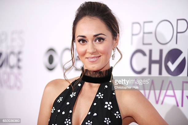 Actress Susannah Fielding attends the People's Choice Awards 2017 at Microsoft Theater on January 18 2017 in Los Angeles California
