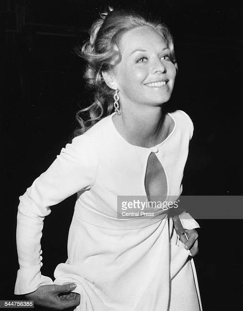 Actress Susannah York arriving at the premiere of the film 'Battle of Britain' at the Dominion Tottenham Court Road London September 16th 1969