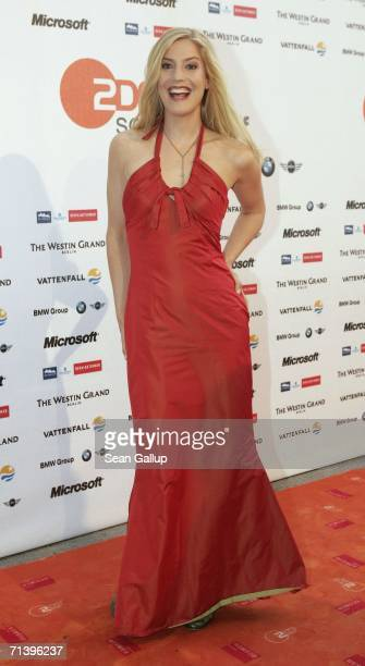 Actress Susanne Gaertner attends the ZDF television station summer party July 7 2006 in Berlin Germany