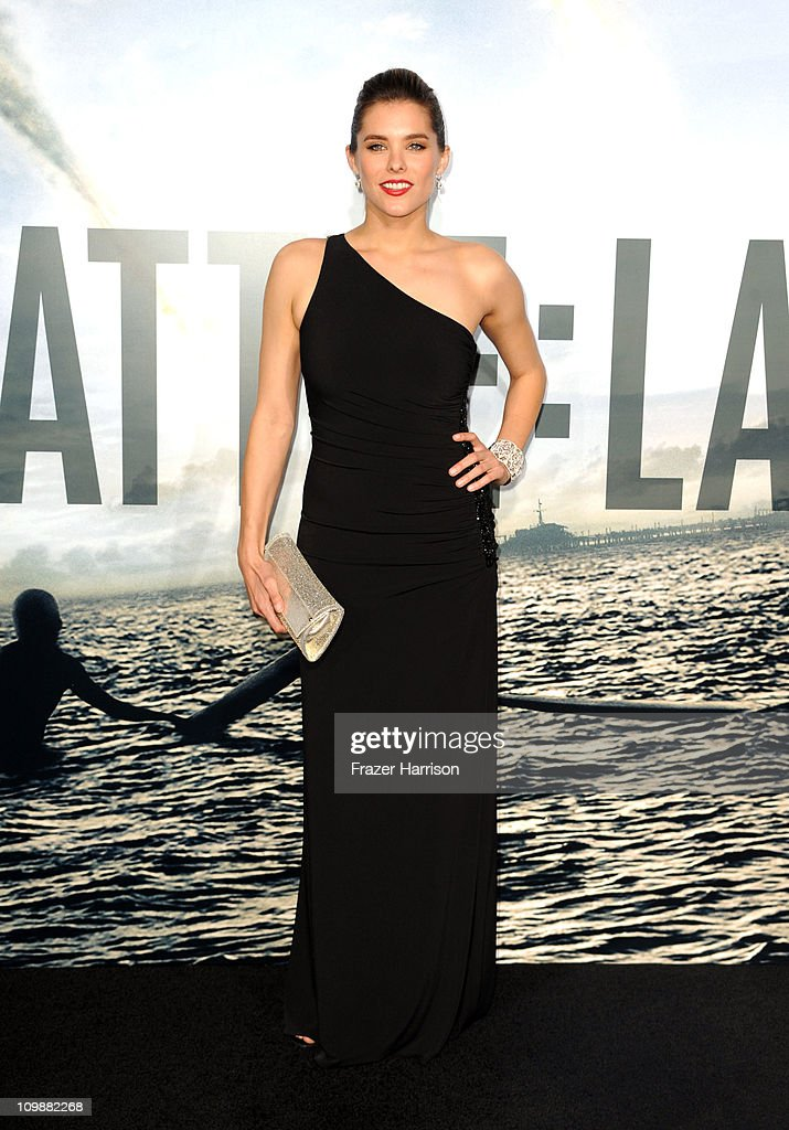 Actress Susie Abromeit arrives at the premiere of Columbia Pictures' 'Battle: Los Angeles' at the Regency Village Theater on March 8, 2011 in Westwood, California.