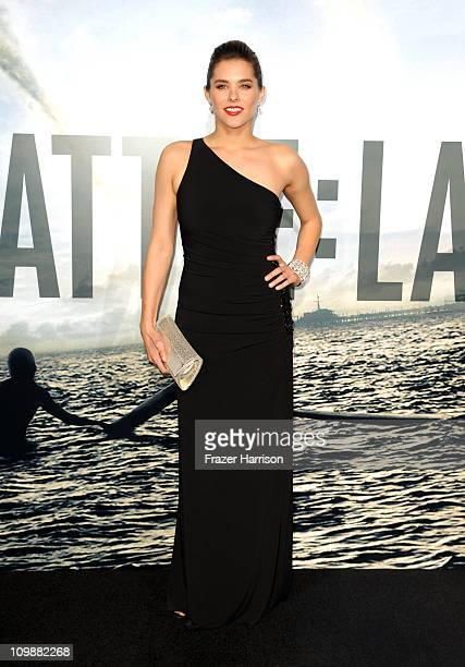 Actress Susie Abromeit arrives at the premiere of Columbia Pictures' Battle Los Angeles at the Regency Village Theater on March 8 2011 in Westwood...