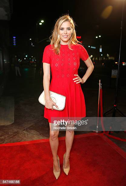 Actress Susie Abromeit attends Meeting JASMIN Fine Art Exhibition at Ace Gallery on July 14, 2016 in Los Angeles, California.