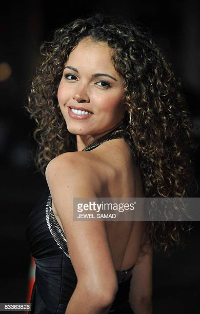 Actress Susie Castillo arrives for the premiere of the Zack and Miri Make a Porno at the Chinese Theater in Hollywood California on October 20 2008...