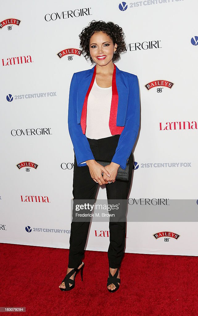 Actress Susie Castillo attends Latina Magazine's 'Hollywood Hot List' Party at The Redbury Hotel on October 3, 2013 in Hollywood, California.