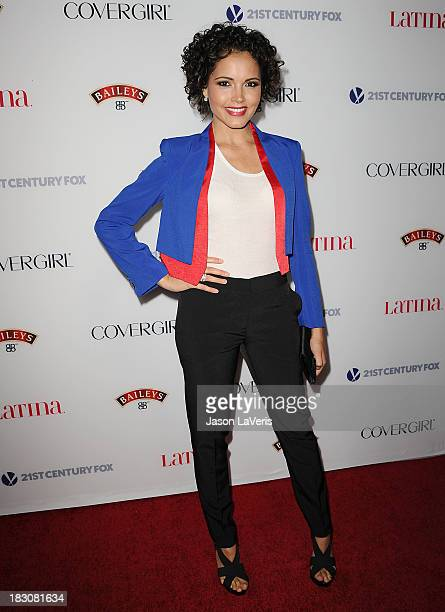 Actress Susie Castillo attends the Latina Magazine 'Hollywood Hot List' party at The Redbury Hotel on October 3 2013 in Hollywood California
