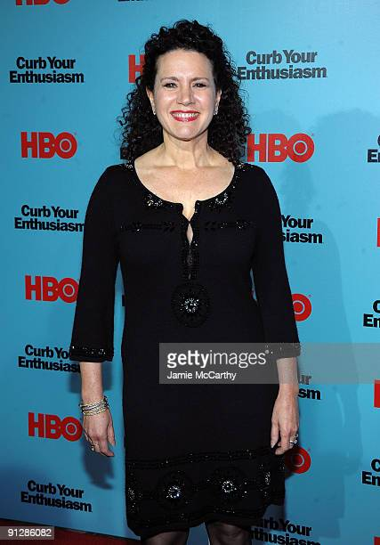 Actress Susie Essman attends the Curb Your Enthusiasm Season 7 New York screening at the Time Warner Screening Room on September 30 2009 in New York...