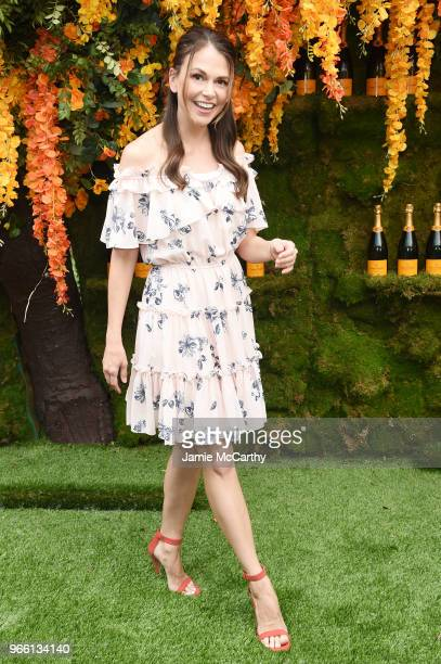 Actress Sutton Foster attends the 11th annual Veuve Clicquot Polo Classic at Liberty State Park on June 2 2018 in Jersey City New Jersey