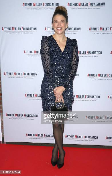 Actress Sutton Foster attends the 2019 Arthur Miller Foundation Honors event at Kimpton Hotel Eventi on November 18 2019 in New York City