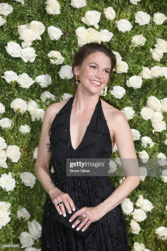 Actress Sutton Foster attends the 71st Annual Tony Awards at Radio City Music Hall on June 11, 2017 in New York City.