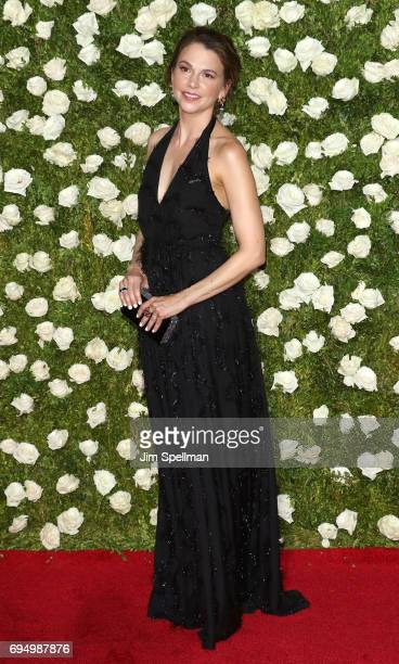 Actress Sutton Foster attends the 71st Annual Tony Awards at Radio City Music Hall on June 11 2017 in New York City
