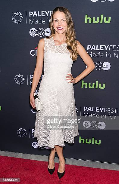 Actress Sutton Foster attends the PaleyFest New York 2016 screening of 'Younger' at The Paley Center for Media on October 10 2016 in New York City