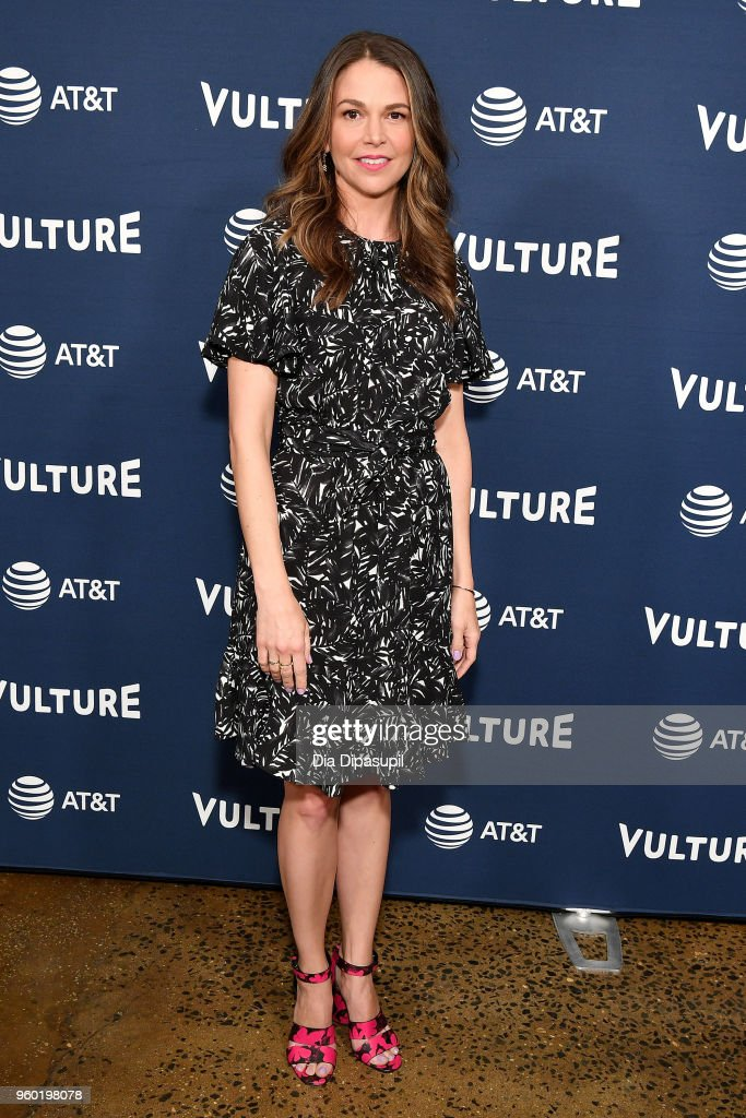 Actress Sutton Foster attends the Vulture Festival Presented By AT&T - Milk Studios, Day 1 at Milk Studios on May 19, 2018 in New York City.