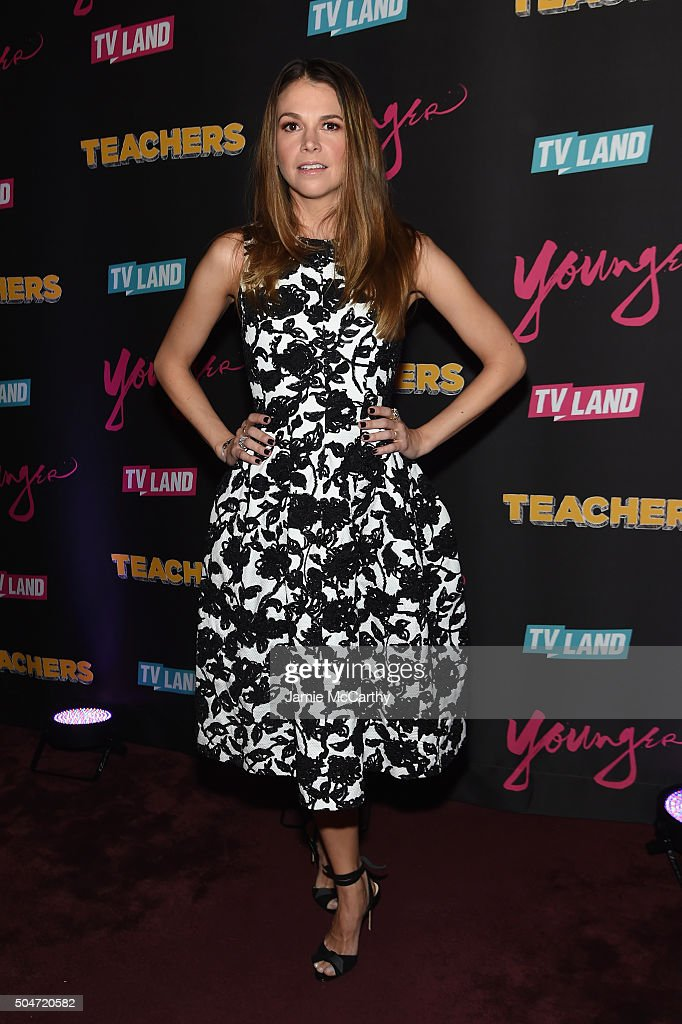 """""""Younger"""" Season 2 And """"Teachers"""" Series Premiere - Arrivals"""