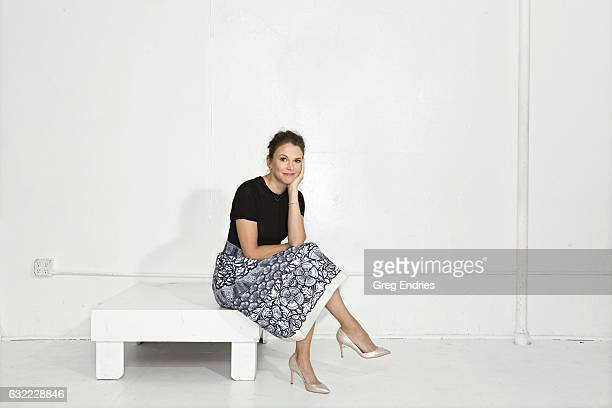 Actress Sutton Foster is photographed for Emmy Magazine on February 10 in Los Angeles California