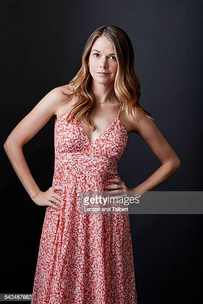 Actress Sutton Foster is photographed for Entertainment Weekly Magazine at the ATX Television Fesitval on June 10 2016 in Austin Texas