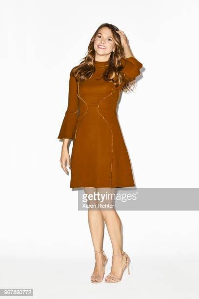 Actress Sutton Foster is photographed for New York Times on May 14, 2018 in New York City.