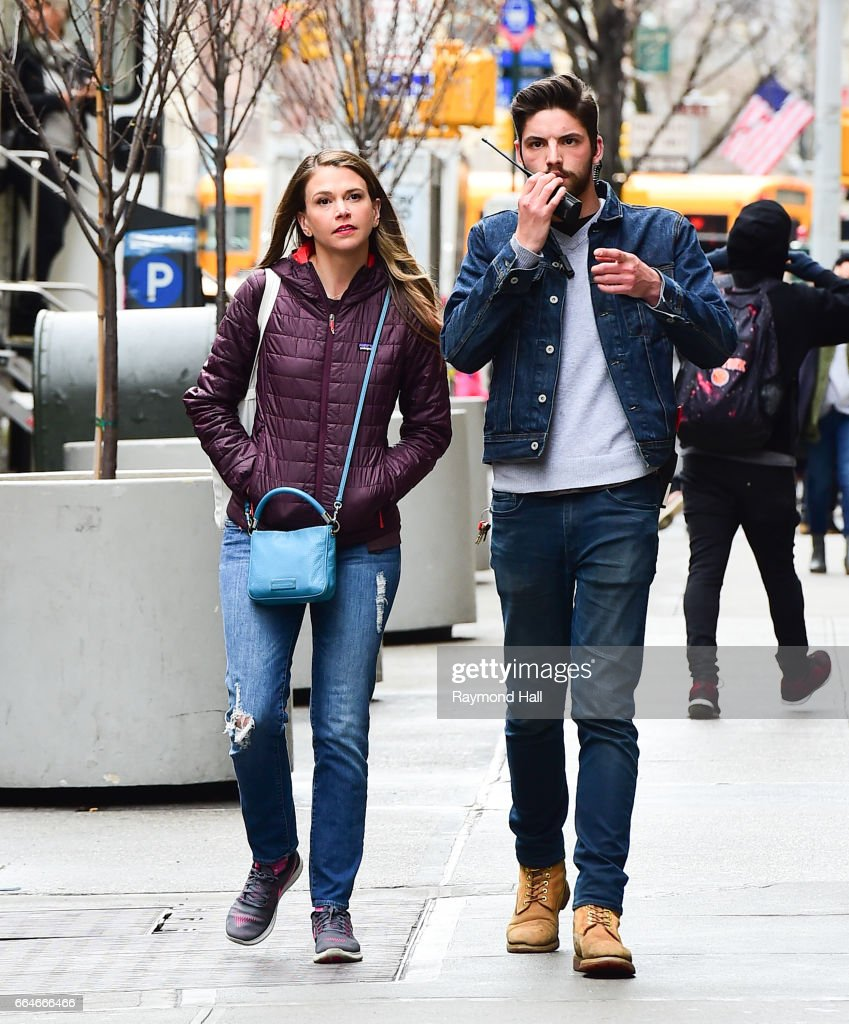 Celebrity Sightings in New York City - April 4, 2017