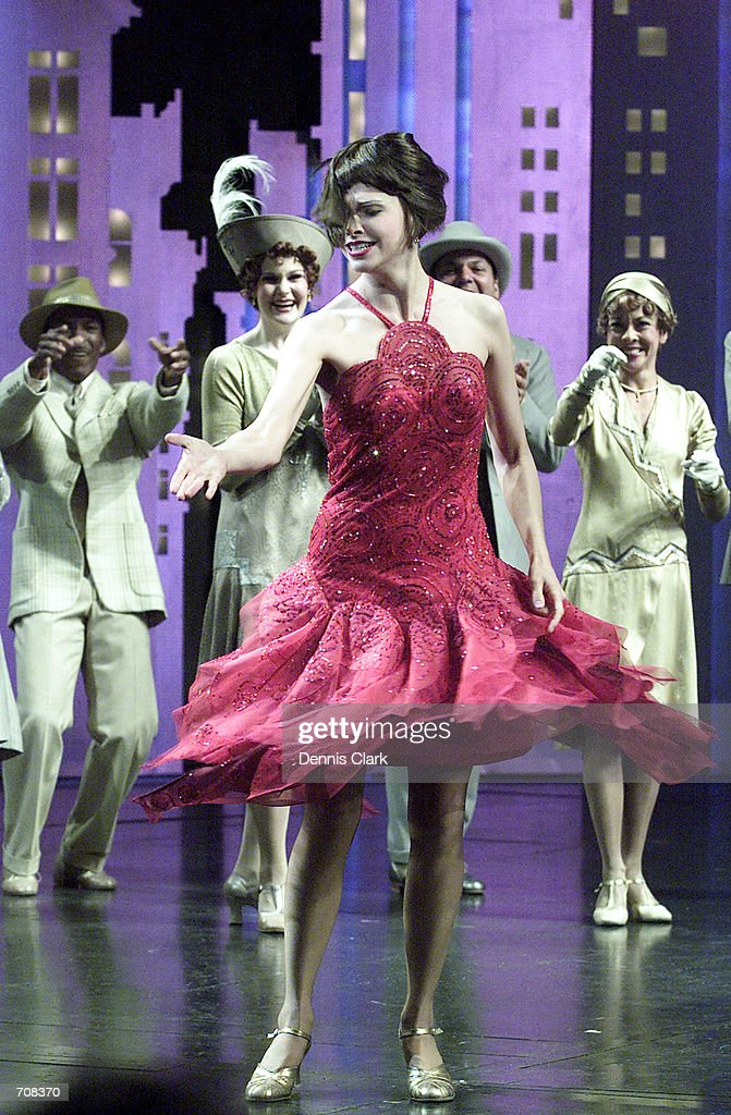 opening of thoroughly modern millie on broadway pictures getty