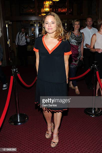 Actress Suzanne Clement attends Laurence Anyways premiere during the 2012 Toronto International Film Festival at The Elgin on September 13 2012 in...