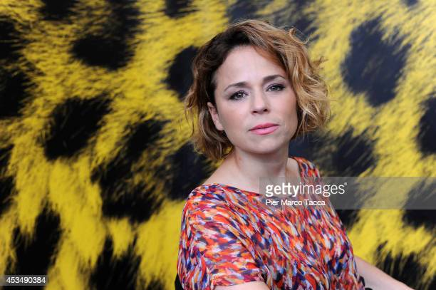 Actress Suzanne Clement attends the 'A La Vie' Photocall during the 67th Locarno Film Festival attends on August 11 2014 in Locarno Switzerland