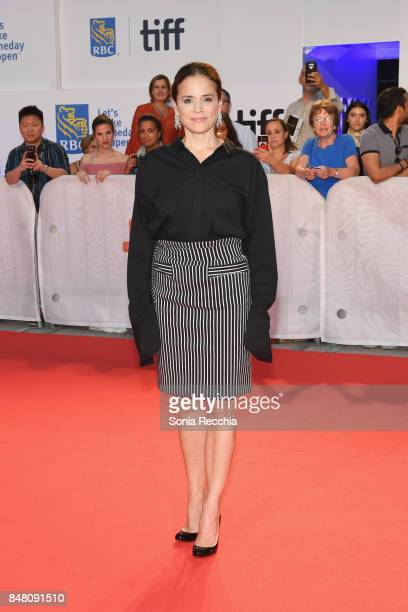 Actress Suzanne Clement attends the 'C'est la vie' premiere during the 2017 Toronto International Film Festival at Roy Thomson Hall on September 16...