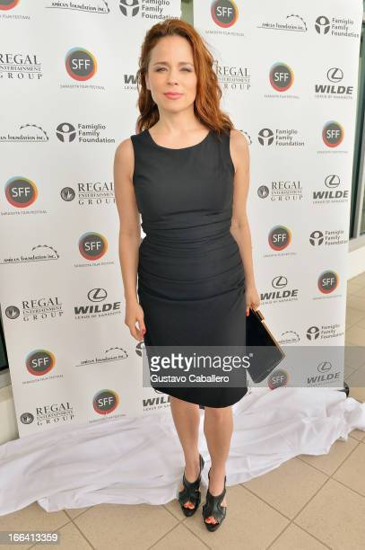 Actress Suzanne Clement walks the red carpet for Tribute Luncheon during the Sarasota Film Festival 2013 at Sarasota Yacht Club on April 12 2013 in...