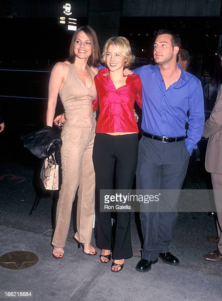 Actress Suzanne Cryer actress Traylor Howard and actor Richard Ruccolo attend the ABC Upfront Presentation on May 16 2000 at Radio City Music Hall in...