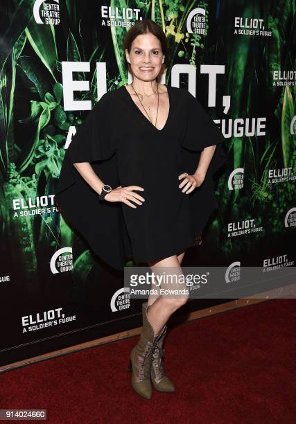 Actress Suzanne Cryer arrives at the opening night performance of 'Elliot A Solder's Fugue' at the Kirk Douglas Theatre on February 3 2018 in Culver...
