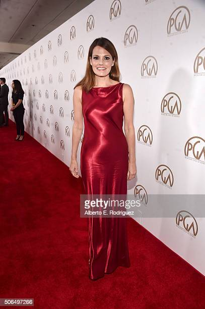 Actress Suzanne Cryer attends the 27th Annual Producers Guild Of America Awards at the Hyatt Regency Century Plaza on January 23 2016 in Century City...