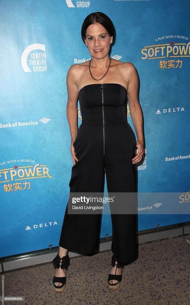 Actress Suzanne Cryer attends the opening night of 'Soft Power' presented by the Center Theatre Group at the Ahmanson Theatre on May 16, 2018 in Los Angeles, California.