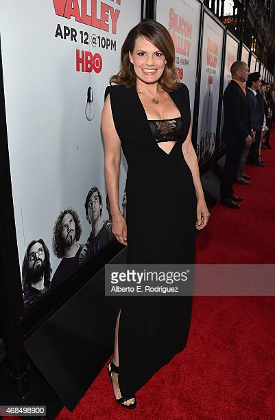 Actress Suzanne Cryer attends the premiere of HBO's 'Silicon Valley' 2nd Season at the El Capitan Theatre on April 2 2015 in Hollywood California