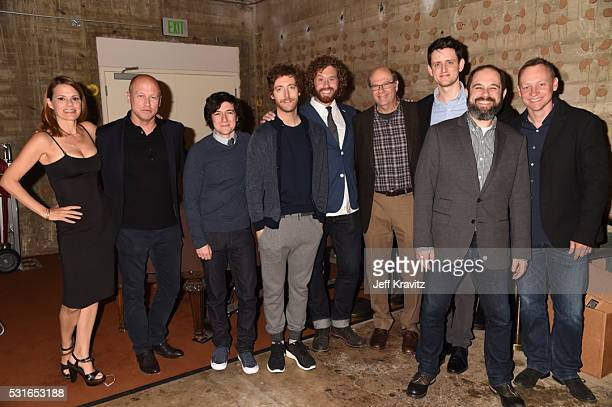 Actress Suzanne Cryer creator Mike Judge actors Josh Brener Thomas Middleditch TJ Miller Stephen Tobolowsky Zach Woods moderator Craig Mazin and...
