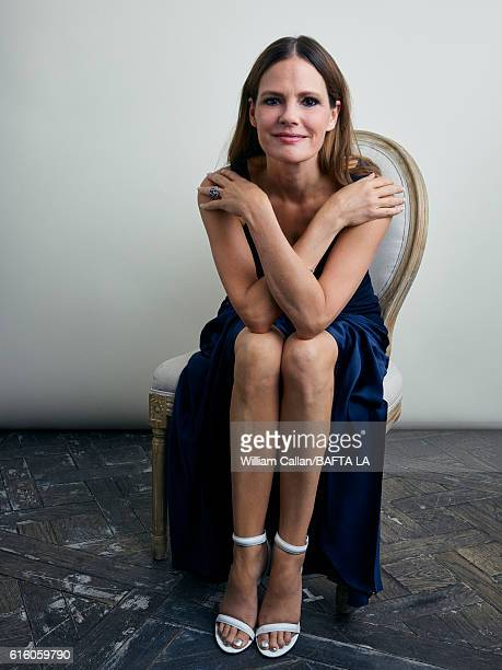 Actress Suzanne Cryer poses for a portrait BBC America BAFTA Los Angeles TV Tea Party 2016 at the The London Hotel on September 17 2016 in West...
