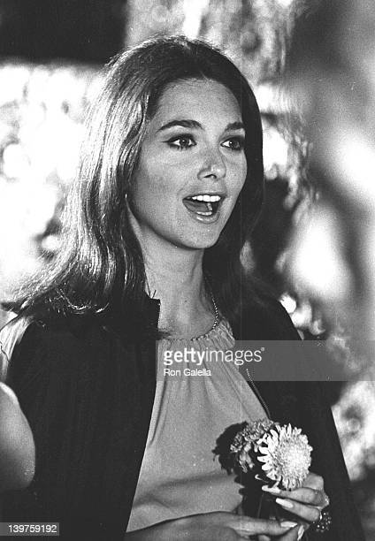 Actress Suzanne Pleshette sighed on location filming 'If It's Tuesday It Must Be Belgium' on September 3 1968 at Villa D'Este in Tripoli Italy