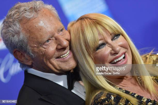 Actress Suzanne Somers and husband Alan Hamel attend the 29th Annual Palm Springs International Film Festival Awards Gala at Palm Springs Convention...