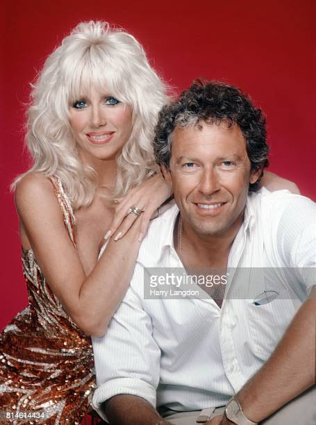 Actress Suzanne Somers and husband Alan Hamel poses for a portrait in 1980 in Los Angeles California