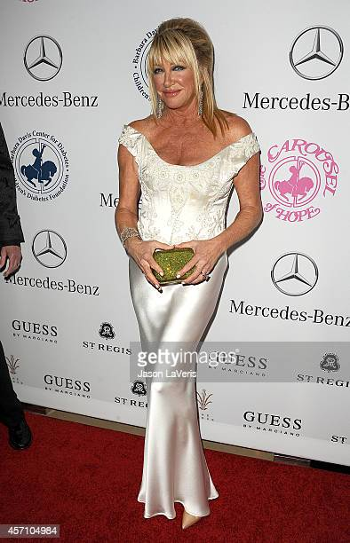 Actress Suzanne Somers attends the 2014 Carousel of Hope Ball at The Beverly Hilton Hotel on October 11 2014 in Beverly Hills California