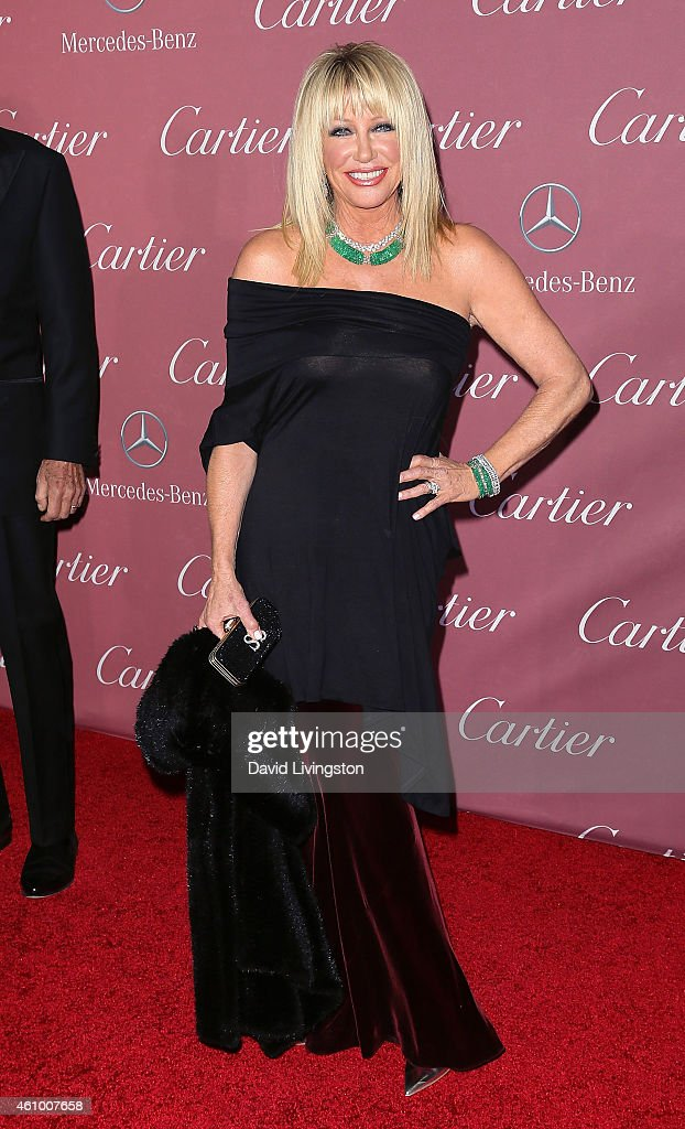 Actress Suzanne Somers attends the 26th Annual Palm Springs International Film Festival Awards Gala at the Palm Springs Convention Center on January 3, 2015 in Palm Springs, California.