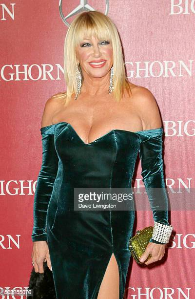 Actress Suzanne Somers attends the 27th Annual Palm Springs International Film Festival Awards Gala at the Palm Springs Convention Center on January...