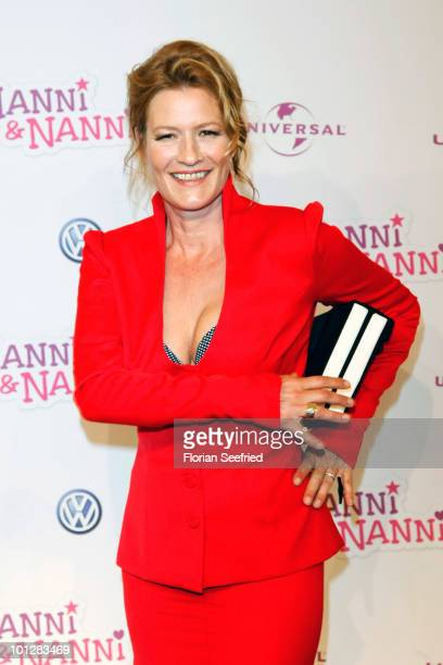 Actress Suzanne von Borsody attends the 'Hanni Nanni World Premiere' at Mathaeser cinema on May 30 2010 in Munich Germany