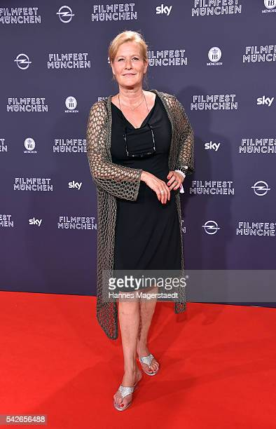 Actress Suzanne von Borsody during the opening night of the Munich Film Festival 2016 at Mathaeser Filmpalast on June 23 2016 in Munich Germany