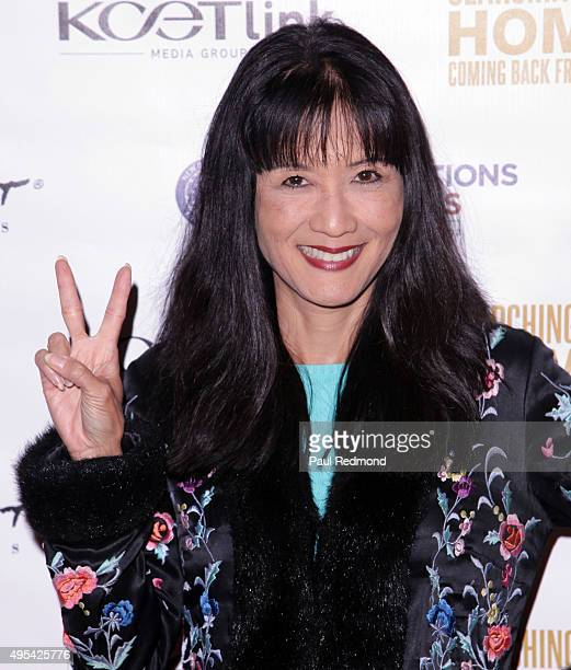"""Actress Suzanne Whang arrives at cast of """"Army Wives"""" reunion for """"Searching For Home: Coming Back From War"""" at ArcLight Sherman Oaks on November 2,..."""