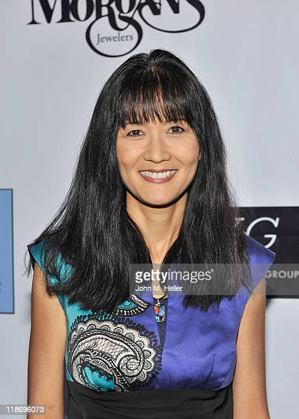 Actress Suzanne Whang arrives at the 2nd Annual Face Forward Gala For A New Beginning at the Intercontinental Hotel on July 9, 2011 in Los Angeles,...