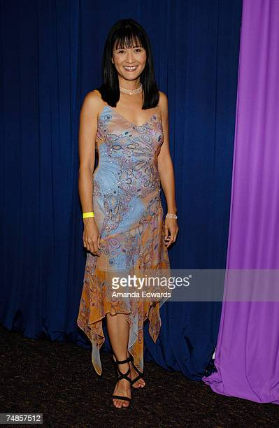 Actress Suzanne Whang arrives at the Courage of Conscience Awards 2007 at The Agape International Spiritual Center on June 21, 2007 in Culver City,...