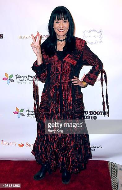 Actress Suzanne Whang attends the 2nd Annual Legacy Series Charity Gala at The Casa Del Mar Hotel on November 20, 2015 in Santa Monica, California.