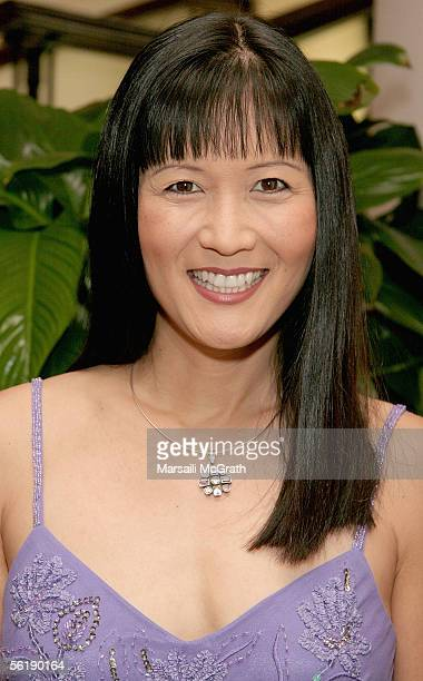 Actress Suzanne Whang attends the 3rd Annual Hollywood Bag Lady Lupus Luncheon at the Beverly Hills Hotel on November 16, 2005 in Beverly Hills,...
