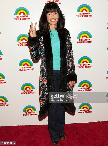 """Actress Suzanne Whang attends the """"Train To Zakopane"""" - Opening Weekend Performance at Edgemar Theater on November 22, 2014 in Santa Monica,..."""